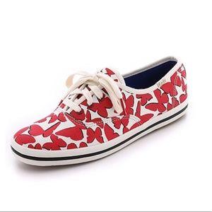 Kate Spade Keds Floating Butterfly Sneaker 10 41EU